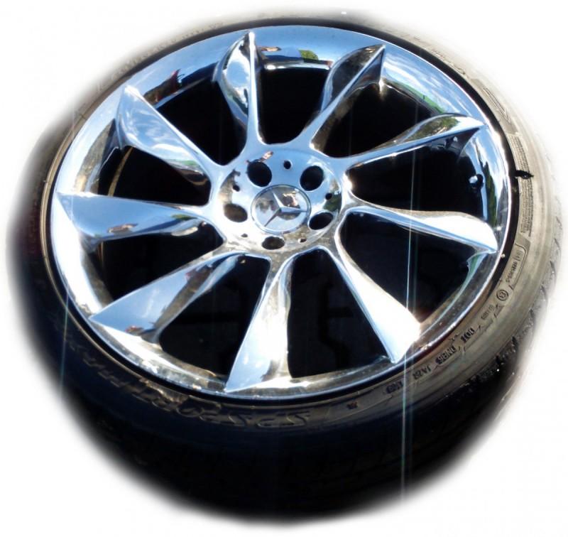 Set of Tires ContiSportContact for Mercedes Mclaren 0