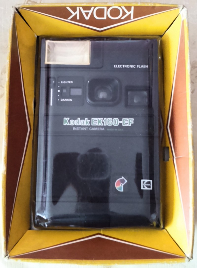 For Sale: Kodak Eastman Camera EK160-EF, USA - WORKS !!! 11
