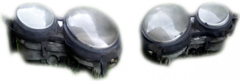 For Sale: Front Lights Mercedes 210 1