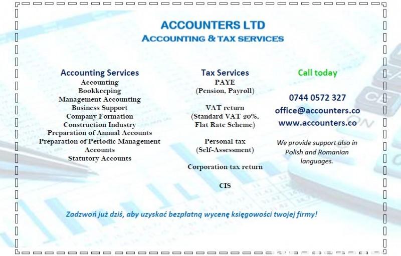 Biuro Rachunkowo-Ksiegowe Accounters Ltd 0