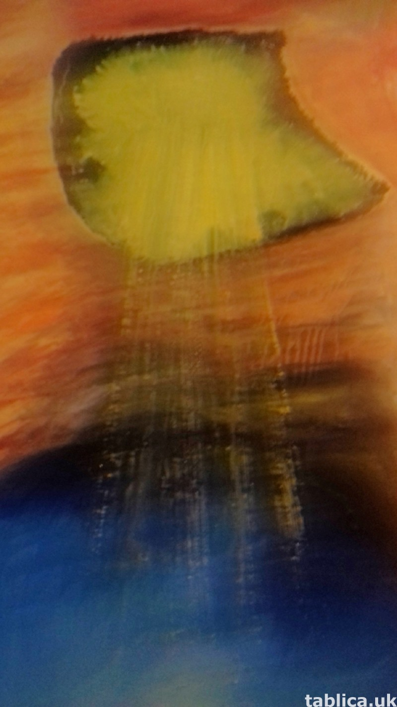 For Sale: Oil Painting: Cave - Not Photocopy !!! 8
