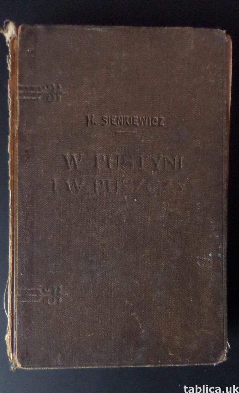 For Sale: In Desert and Wilderness- H. Sienkiewicz from 1928 1