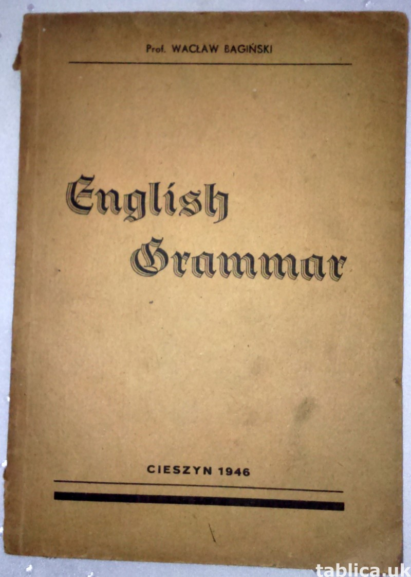 For Sale: E-Book: English Grammar - Wacław Bagiński 0