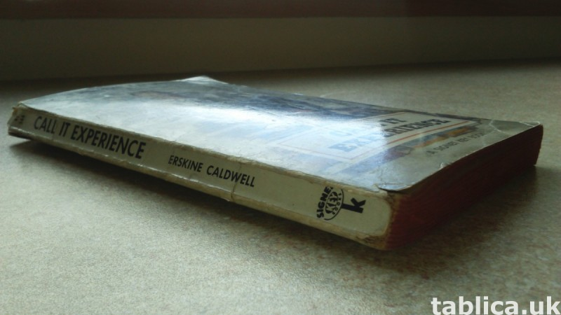 For Sale: Call It Experience - Erskine Caldwell  3