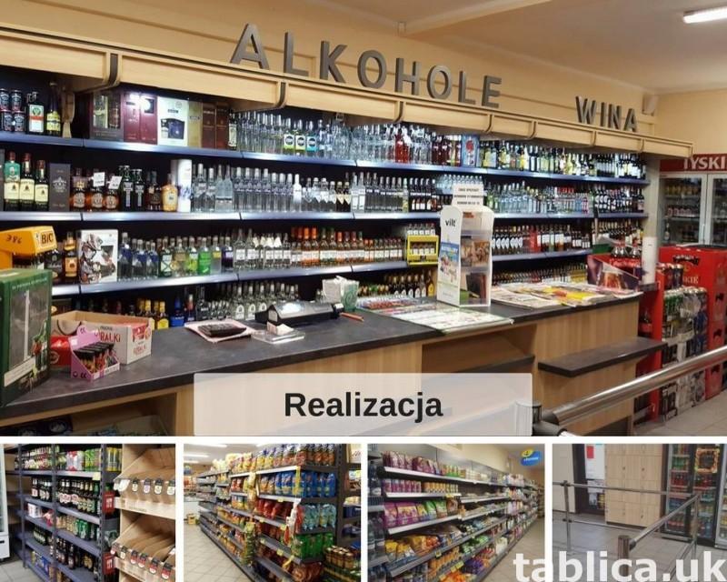 shop equipment for sale from POLAND Meble do sklepu Regały 0