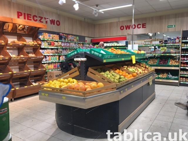 shop equipment for sale from POLAND Meble do sklepu Regały 9