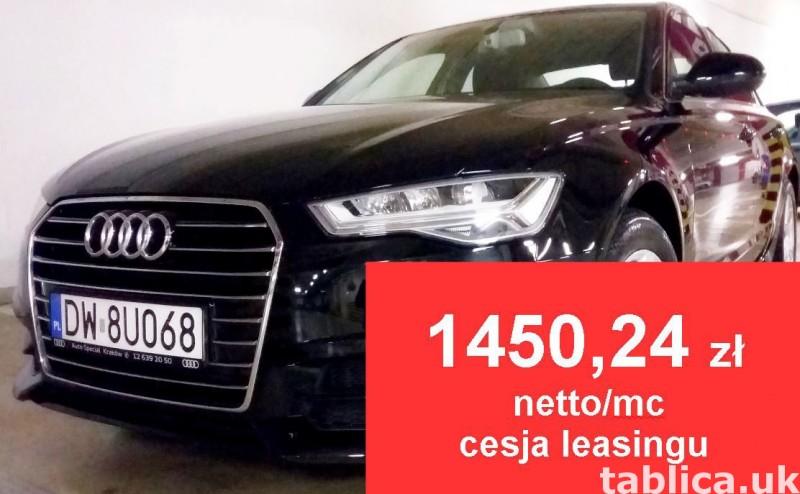 AUDI A6 2.0 TDI- CESJA LEASINGU -1450,24 zł netto/mc 0