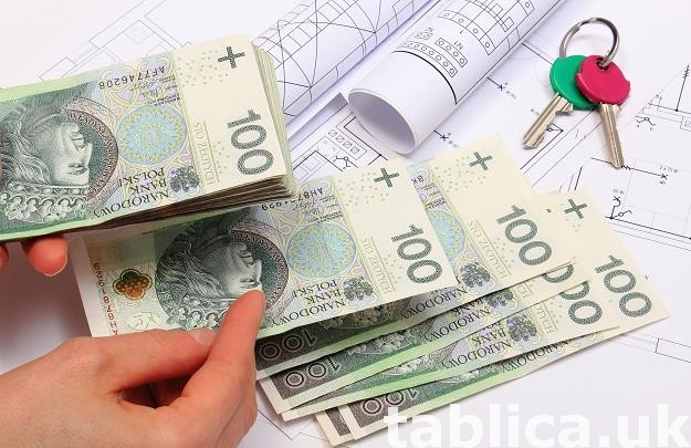 Oferujemy kredyt w przedziale od 5000 do 150.000.000 zl/ EU 0