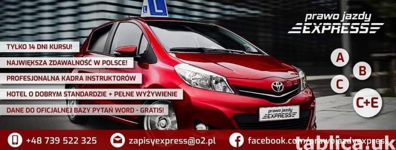 Prawo jazdy express 0