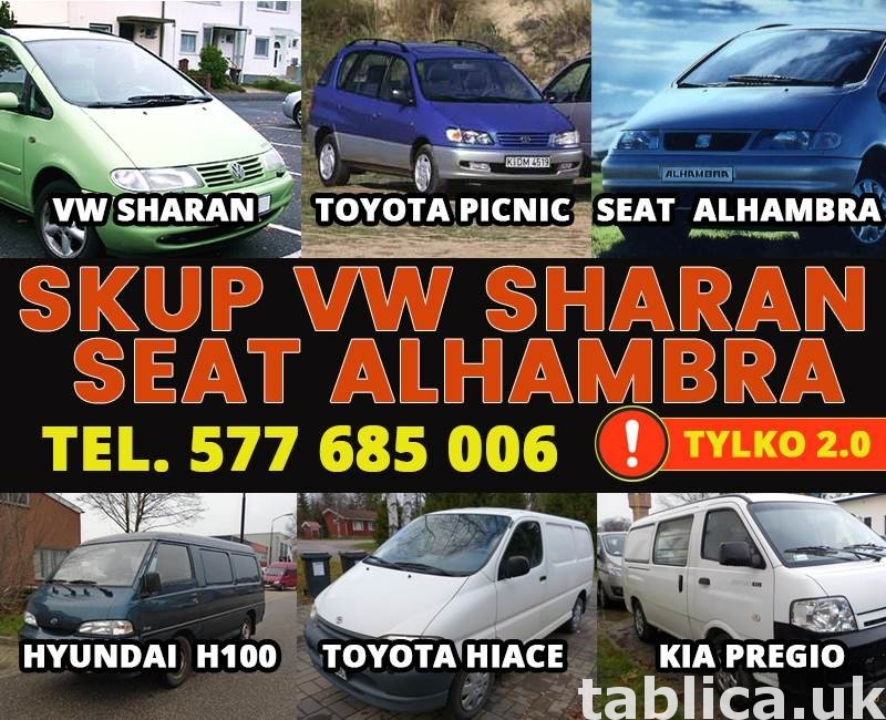KUPIĘ PILNIE VW SHARAN SEAT ALHAMBRA 2.0 B i B/G I INNE 0