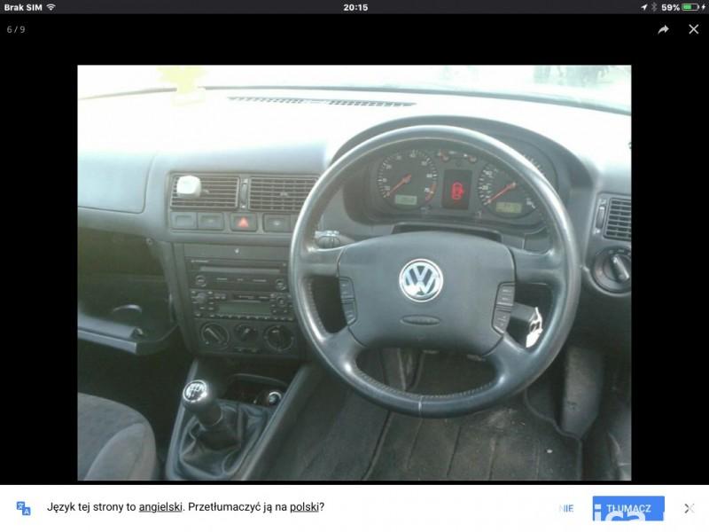 Okazja! Volkswagen Golf 2002 1.6 proszę dzwon  07821293750 2