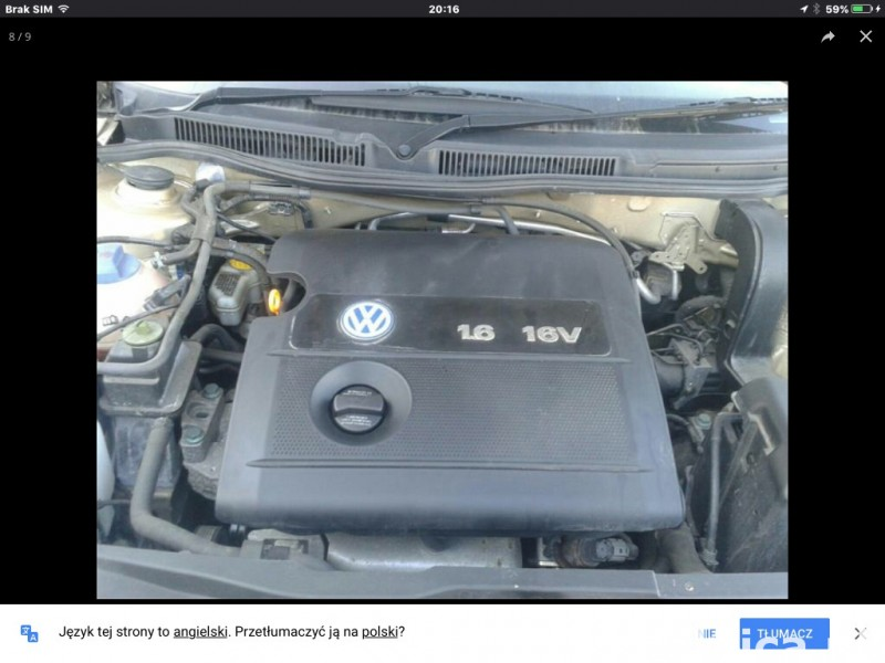Okazja! Volkswagen Golf 2002 1.6 proszę dzwon  07821293750 4
