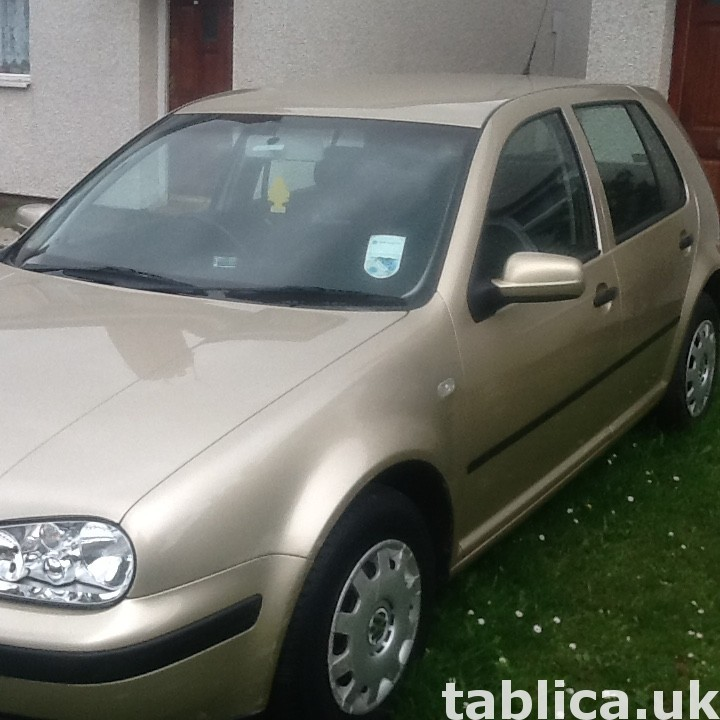 Okazja! Volkswagen Golf 2002 1.6 proszę dzwon  07821293750 5