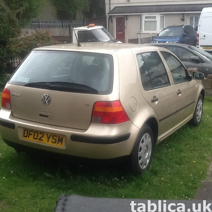 Okazja! Volkswagen Golf 2002 1.6 proszę dzwon  07821293750 6