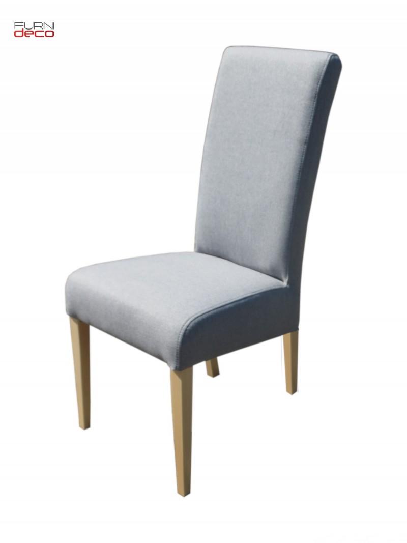 Duży Elegancki Zestaw 8 Tapicerowanych Krzeseł + Stół 1