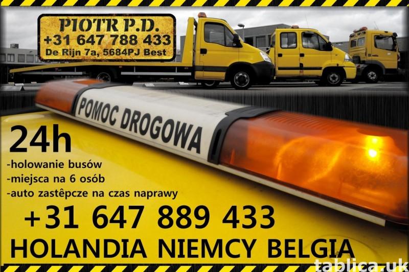 Pomoc Drogowa Holandia Niemcy Belgia 24h 2