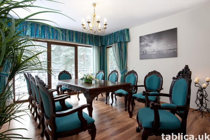 Luksusowa posiadłość z apartamentami, krytym basenem. 7