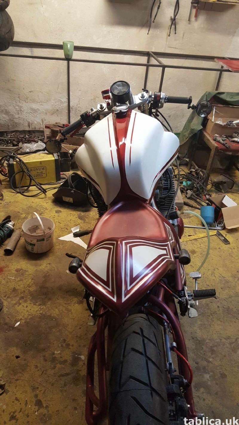 motocykl cafe racer  0