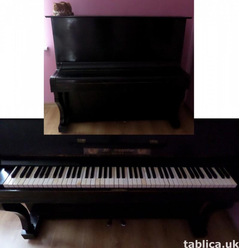 Antique Piano: Fr. Schultze Berlin W. 1827 - 192y WORKS !!! 1