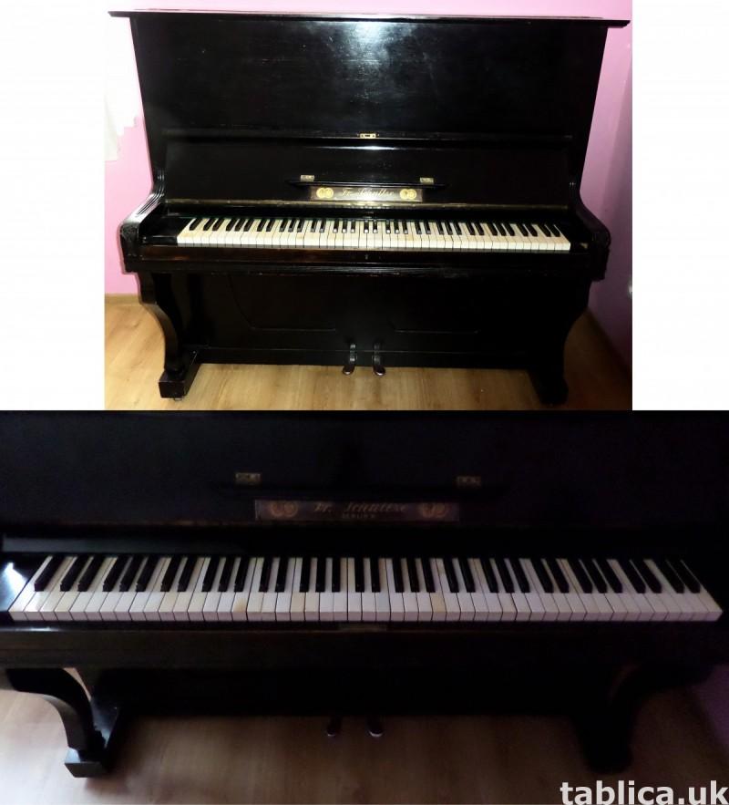 Antique Piano: Fr. Schultze Berlin W. 1827 - 192y WORKS !!! 8