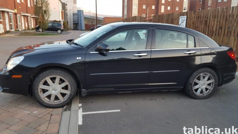 Chrysler Sebring Limited Edition Black 2008  0