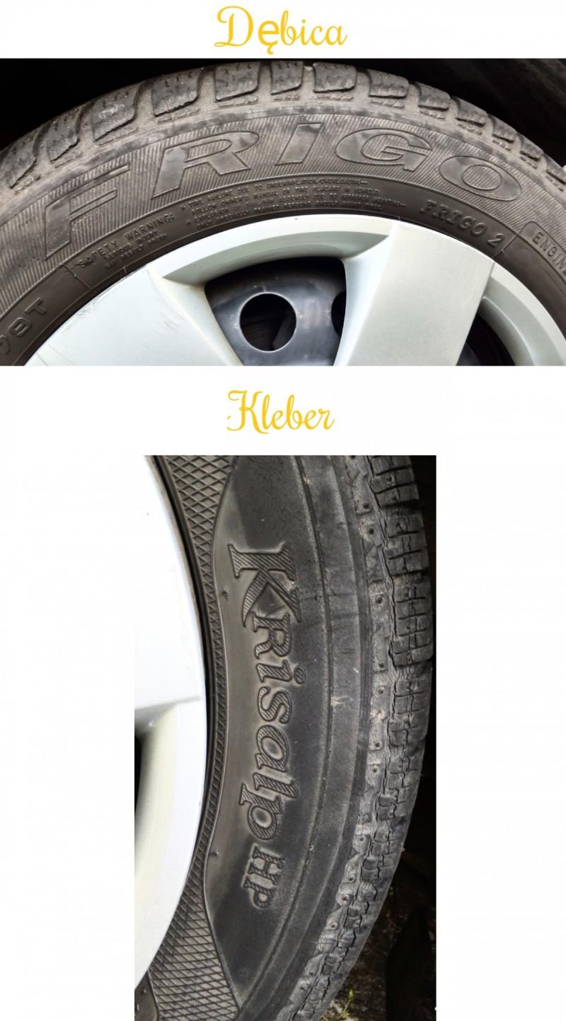 4 Orig. Tires: 2 DĘBICA - Frigo 2 and 2 KLEBER - Krisalp HP 6