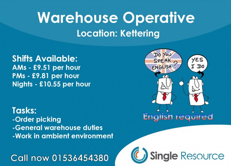 Warehouse operatives 0
