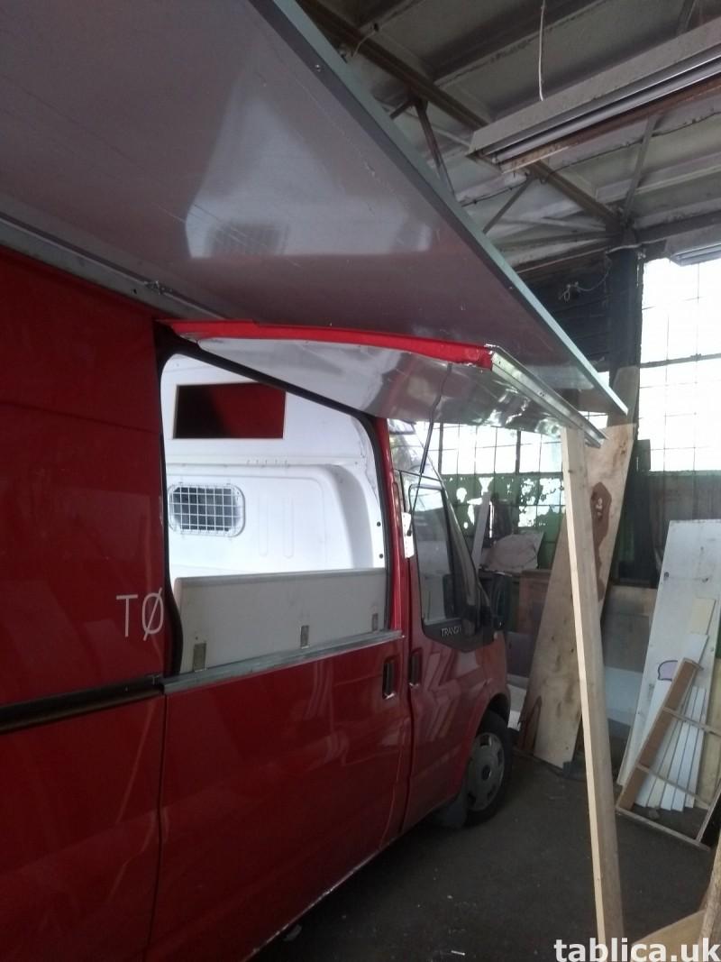 Food Trucki - zabudowy i przebudowy samochodów 1