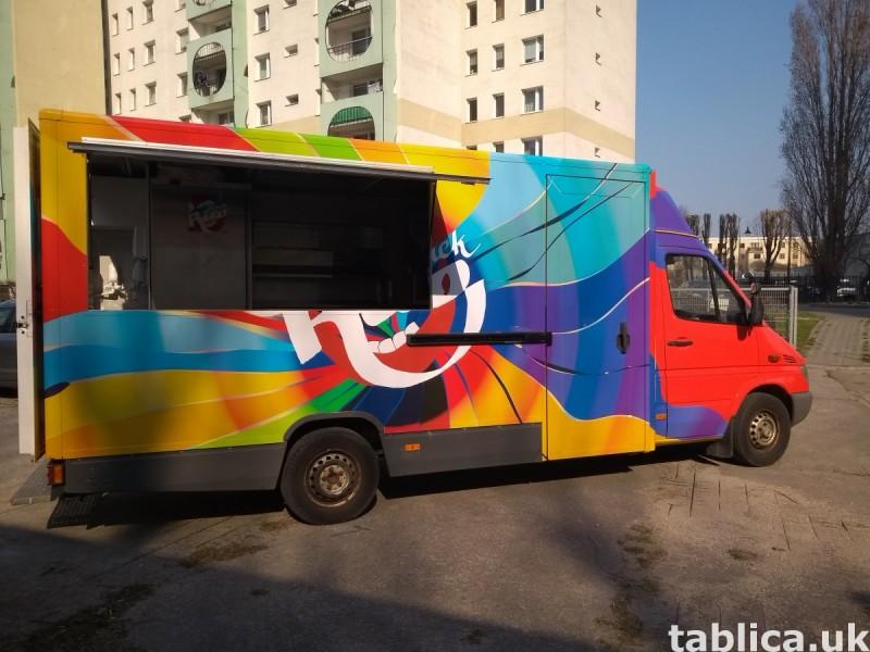 Food Trucki - zabudowy i przebudowy samochodów 2