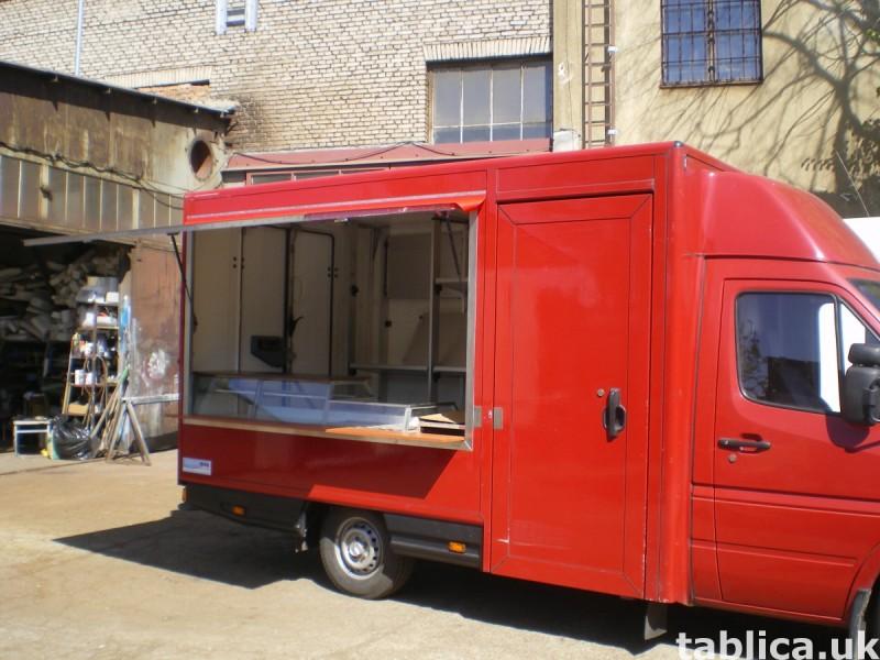 Food Trucki - zabudowy i przebudowy samochodów 8