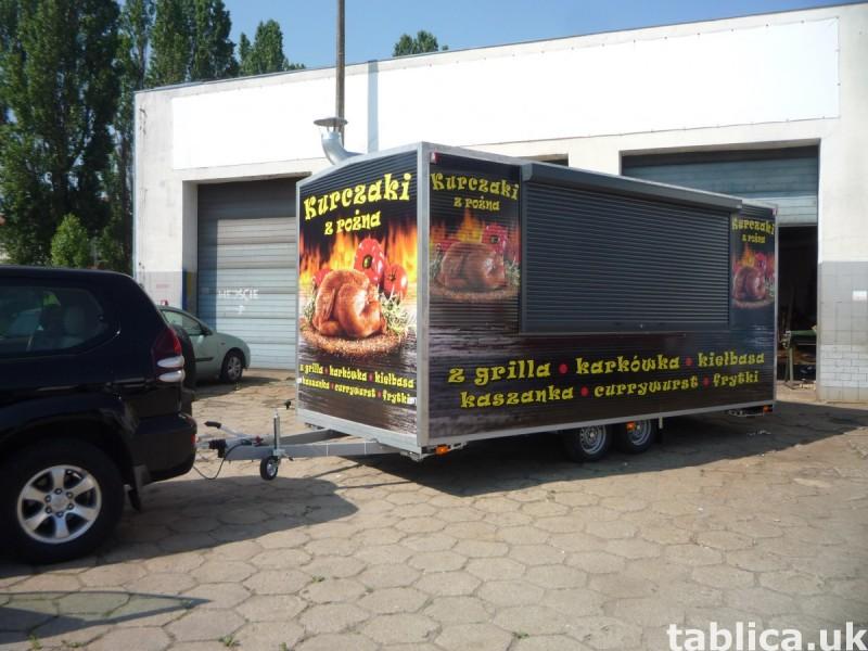 Food Trucki - zabudowy i przebudowy samochodów 16