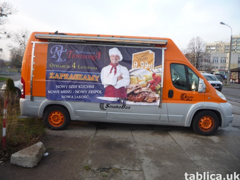 Food Trucki - zabudowy i przebudowy samochodów 17