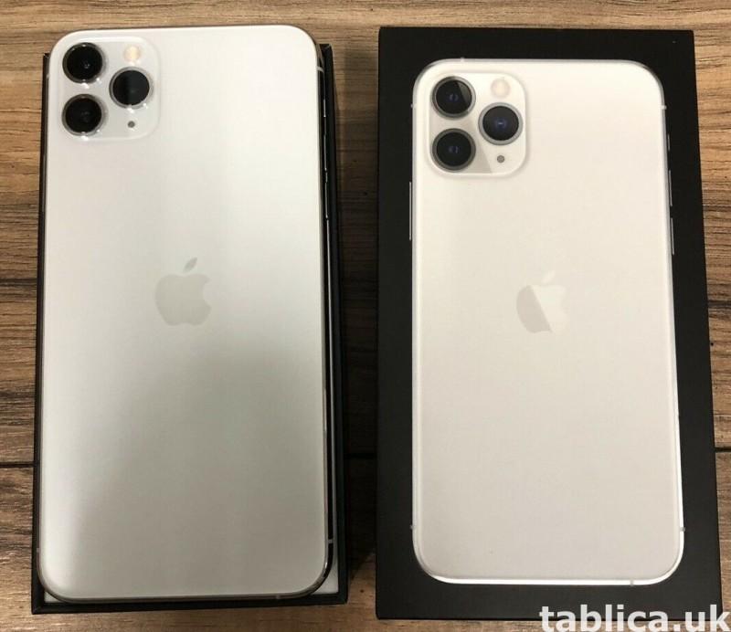 Apple iPhone 11 Pro 64GB = $500, iPhone 11 Pro Max 64GB $550 2