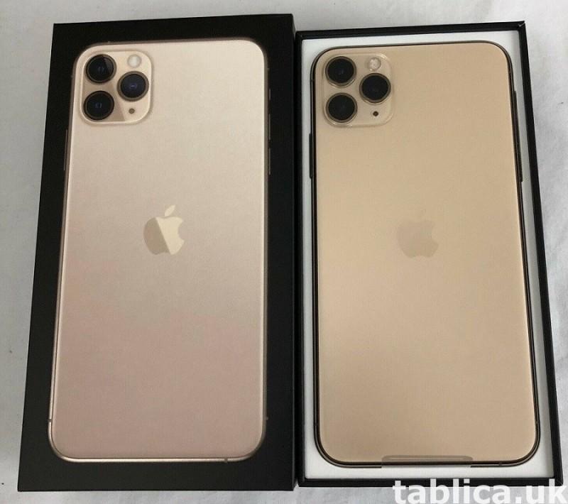 Apple iPhone 11 Pro 64GB = $500, iPhone 11 Pro Max 64GB $550 4