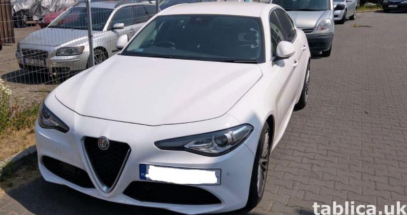 Alfa Romeo Giulia 2.2JTD AT8 0