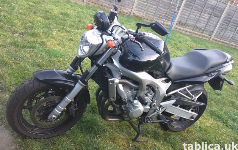 Yamaha FZ6, 8453 mil.  0