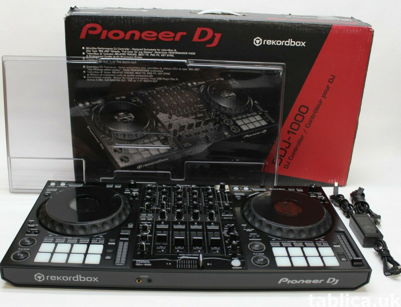 Pioneer ddj 1000 Controller, Pioneer CDJ-3000 Multi Player  0