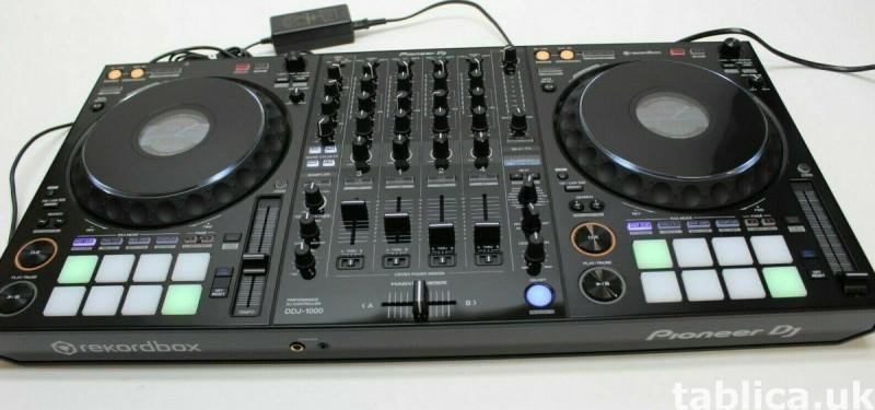 Pioneer ddj 1000 Controller, Pioneer CDJ-3000 Multi Player  1