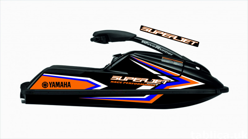 Stickers for water scooter RXP, RXT, Super Jet, VX, FZS and  0