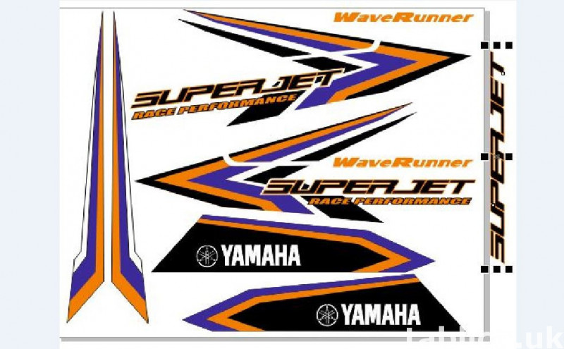 Stickers for water scooter RXP, RXT, Super Jet, VX, FZS and  7