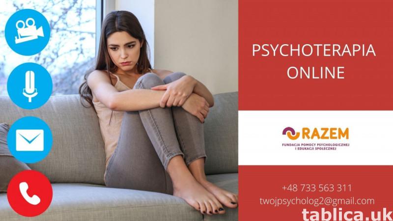 Psychoterapia online, konsultacje psychologiczne online 0