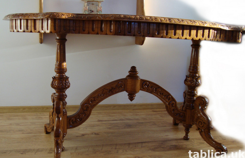 For Sale: The HandMade OAK Table - Solid Wood !!! 2