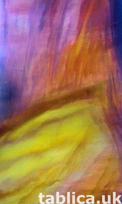 Oil Painting: Cave of Light - HandMade - Not a Photocopy !!! 3