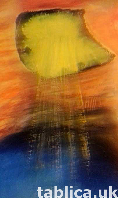 Oil Painting: Cave of Light - HandMade - Not a Photocopy !!! 6