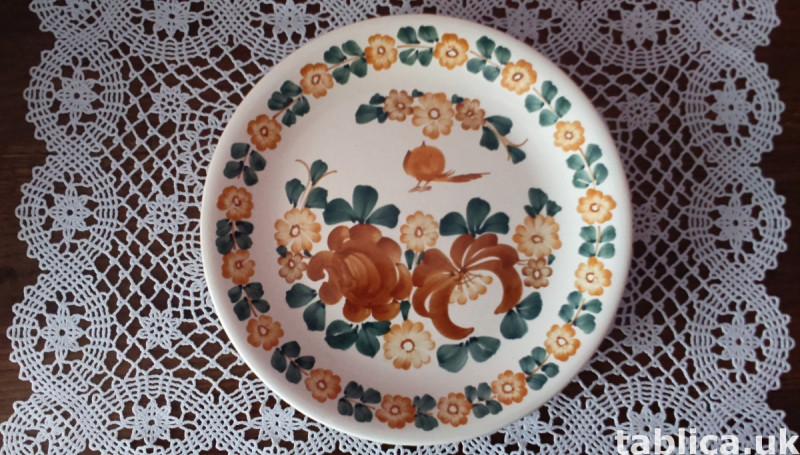 3 Original Plates: Veroni, Lubiana and FAJANS WŁOCŁAWEK  1
