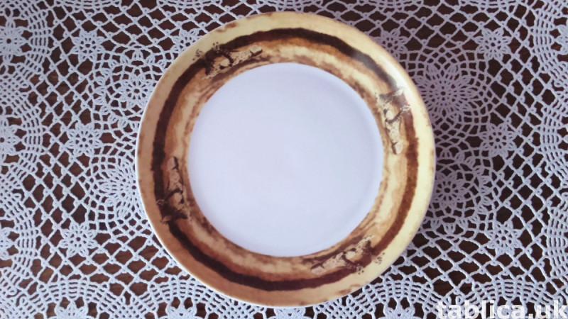 3 Original Plates: Veroni, Lubiana and FAJANS WŁOCŁAWEK  3