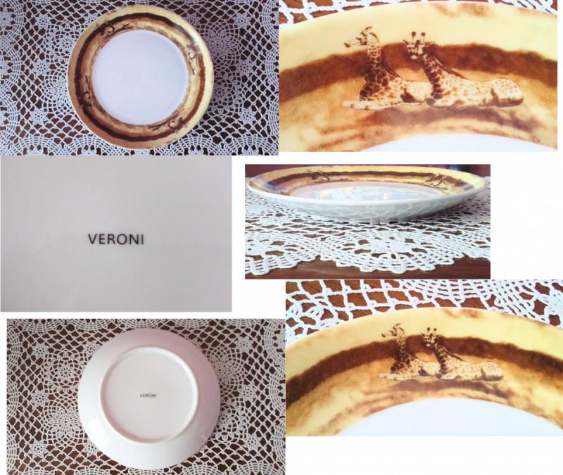 3 Original Plates: Veroni, Lubiana and FAJANS WŁOCŁAWEK  6