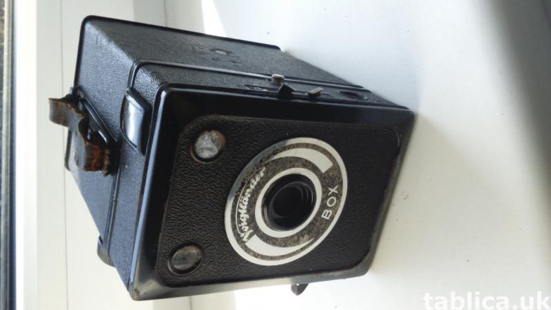 Antique Voigtlander BOX Camera from 1939 0