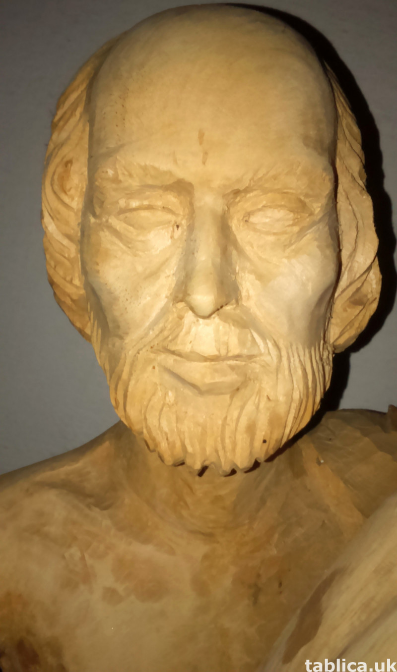 Sculpture: Three Innocents - Solid Wood !!!  5