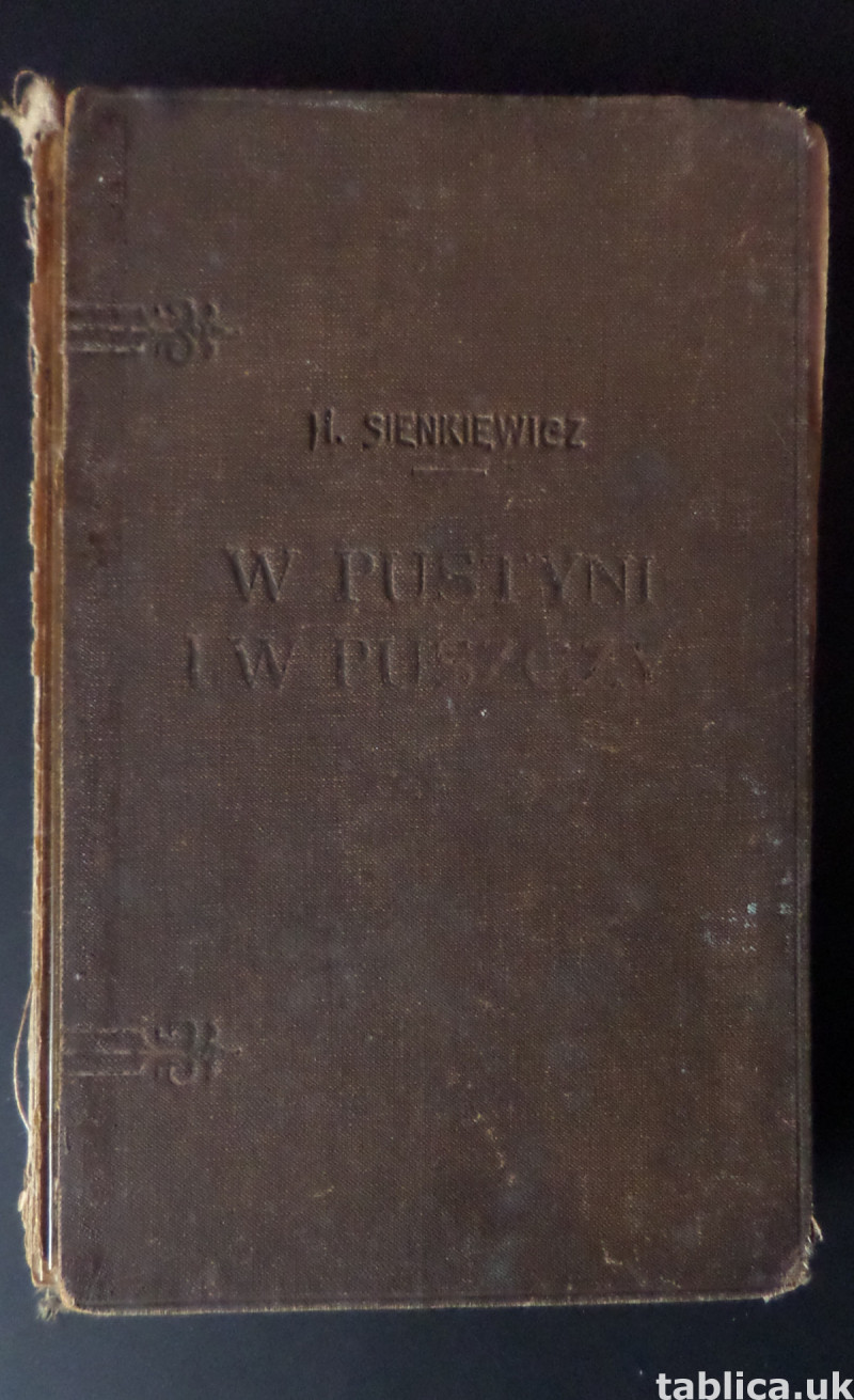 In Desert and Wilderness - H. Sienkiewicz from 1928  6